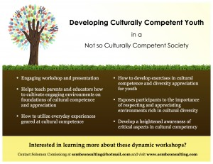 Cultural Competence Workshop Flyer